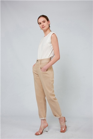 030106 TOPPERED COTTON JEAN RICH TEA