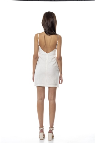 110369 BAHIA MINI DRESS SAGO