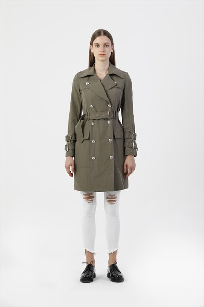 61090 DOUBLE BREASTED TRENCHCOAT (RIOT)